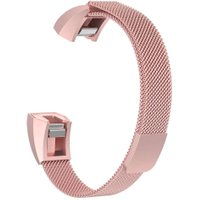 180mm Milanese Magnetic Loop Metal Watch Band Strap Belt for Fitbit Ace